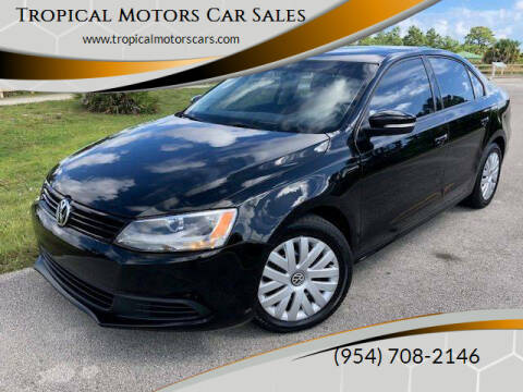 2014 Volkswagen Jetta for sale at Tropical Motors Car Sales in Deerfield Beach FL