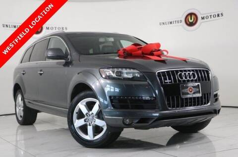 2015 Audi Q7 for sale at INDY'S UNLIMITED MOTORS - UNLIMITED MOTORS in Westfield IN