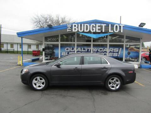 2012 Chevrolet Malibu for sale at THE BUDGET LOT in Detroit MI