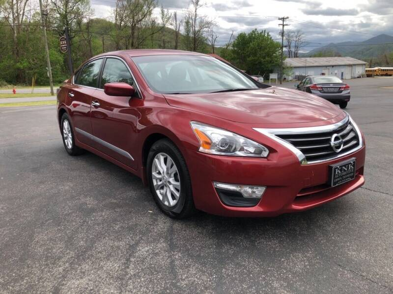 2015 Nissan Altima for sale at KNK AUTOMOTIVE in Erwin TN