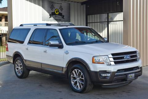 2015 Ford Expedition EL for sale at G MOTORS in Houston TX
