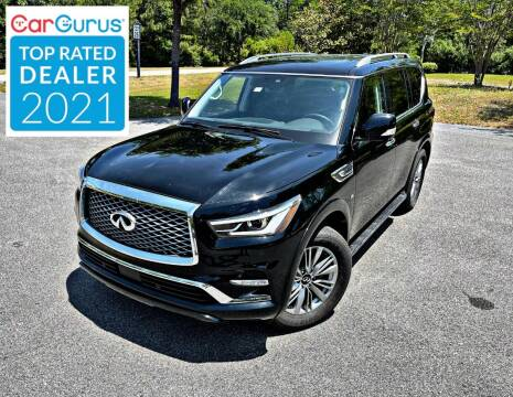 2020 Infiniti QX80 for sale at Brothers Auto Sales of Conway in Conway SC