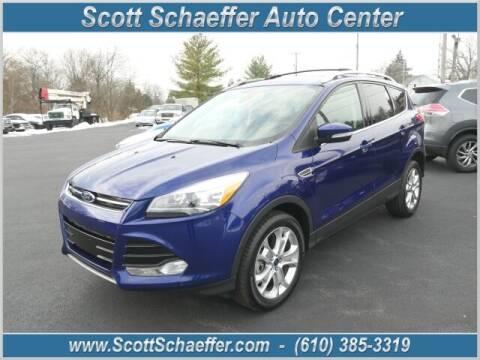2016 Ford Escape for sale at Scott Schaeffer Auto Center in Birdsboro PA