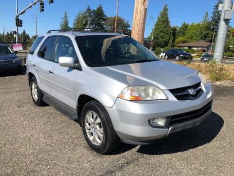 2003 Acura MDX for sale at KARMA AUTO SALES in Federal Way WA