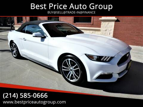 2015 Ford Mustang for sale at Best Price Auto Group in Mckinney TX
