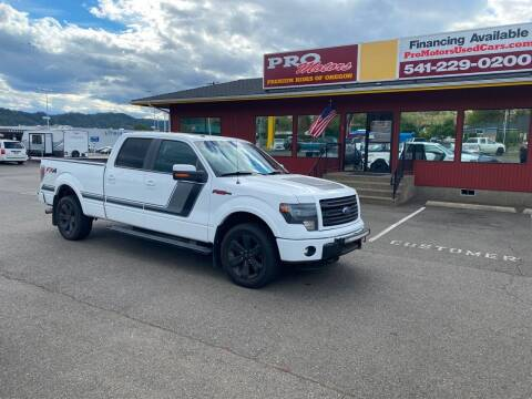 2014 Ford F-150 for sale at Pro Motors in Roseburg OR