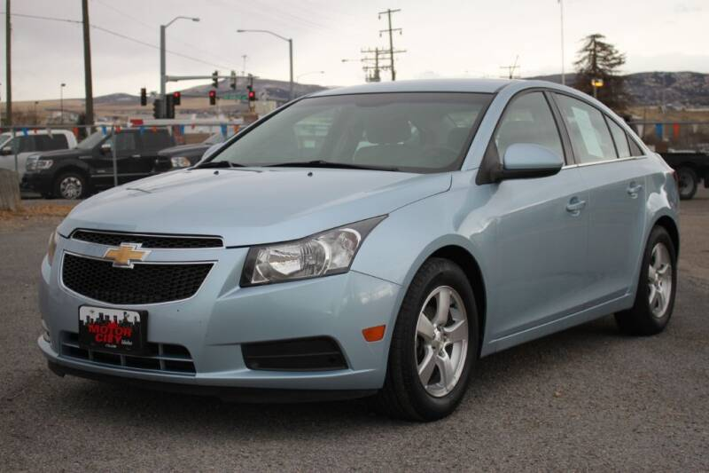 2012 Chevrolet Cruze for sale at Motor City Idaho in Pocatello ID