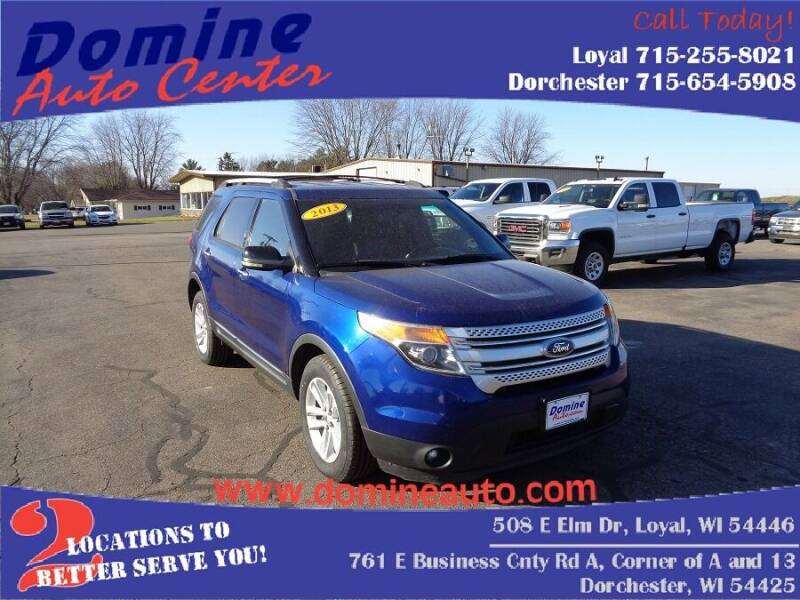 2013 Ford Explorer for sale at Domine Auto Center in Loyal WI