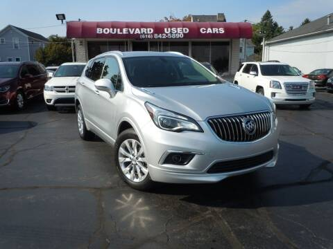 2017 Buick Envision for sale at Boulevard Used Cars in Grand Haven MI