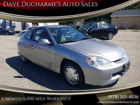 2004 Honda Insight for sale at Dave Ducharme's Auto Sales in Lowell MA