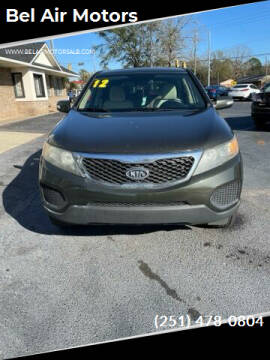 2012 Kia Sorento for sale at Bel Air Motors in Mobile AL