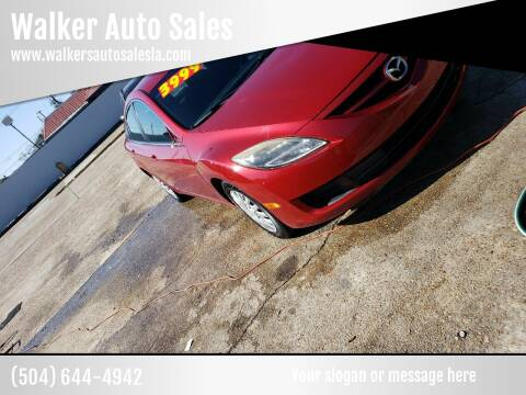 2009 Mazda MAZDA6 for sale at Walker Auto Sales and Towing in Marrero LA