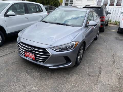 2017 Hyundai Elantra for sale at CLASSIC MOTOR CARS in West Allis WI