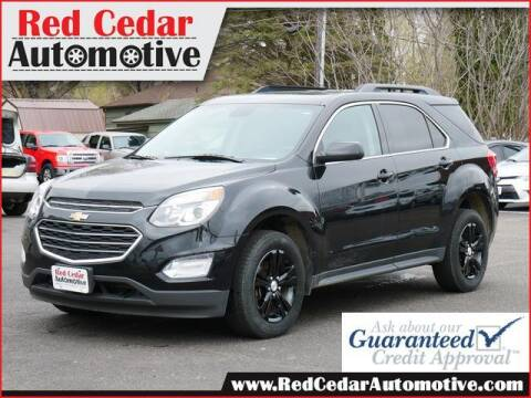 2016 Chevrolet Equinox for sale at Red Cedar Automotive in Menomonie WI