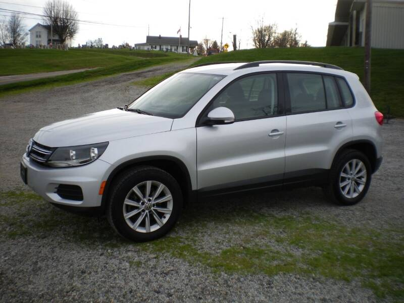 2017 Volkswagen Tiguan for sale at Starrs Used Cars Inc in Barnesville OH