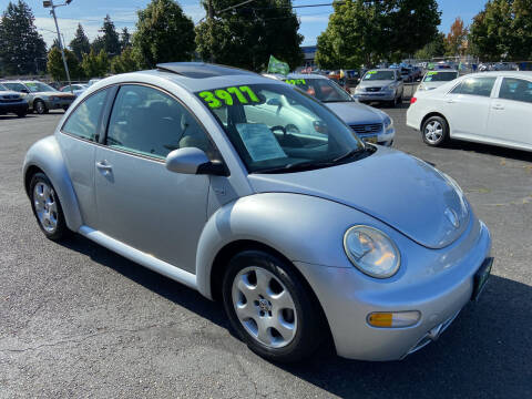 2003 Volkswagen New Beetle for sale at Pacific Point Auto Sales in Lakewood WA