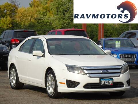 2010 Ford Fusion for sale at RAVMOTORS in Burnsville MN