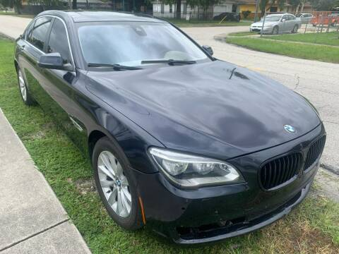 2013 BMW 7 Series for sale at Eden Cars Inc in Hollywood FL