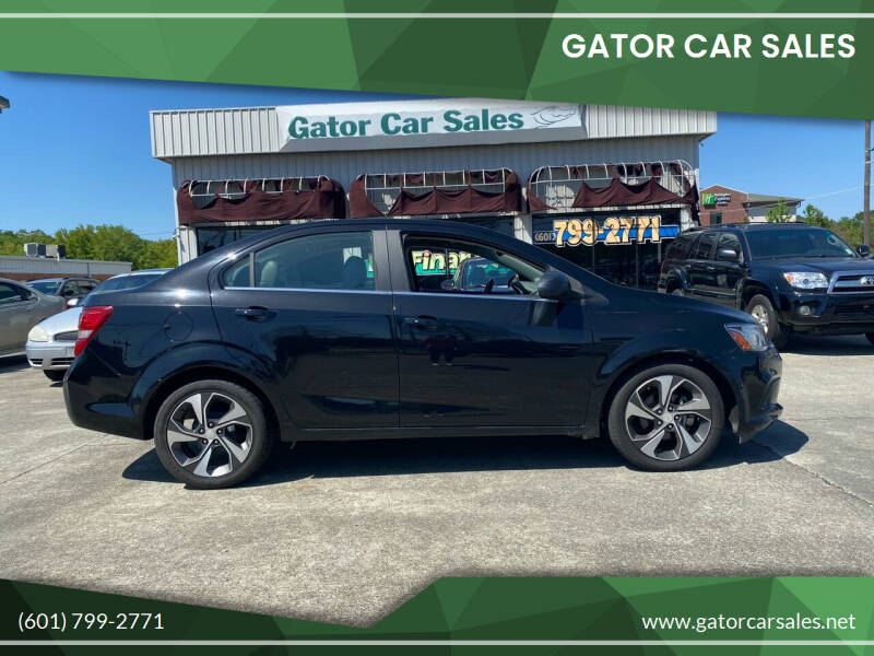 2017 Chevrolet Sonic for sale at Gator Car Sales in Picayune MS
