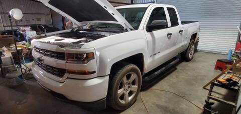 2016 Chevrolet Silverado  for sale at CLASSIC MOTOR SPORTS in Winters TX