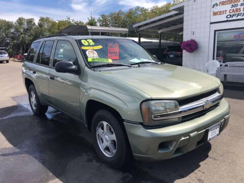 2003 Chevrolet TrailBlazer for sale at Freeborn Motors in Lafayette OR