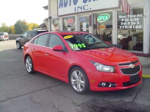 2014 Chevrolet Cruze for sale at G & L Auto Sales Inc in Roseville MI