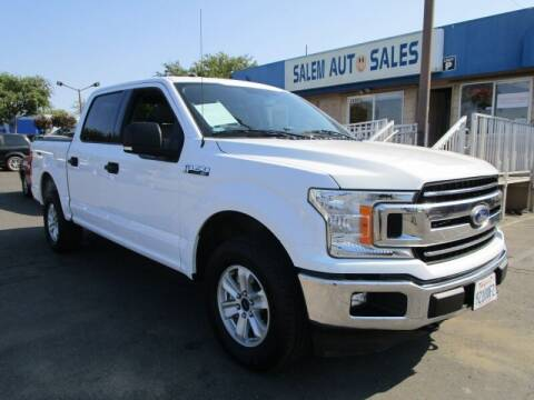 2018 Ford F-150 for sale at Salem Auto Sales in Sacramento CA