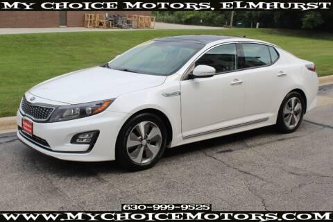 2014 Kia Optima Hybrid for sale at Your Choice Autos - My Choice Motors in Elmhurst IL