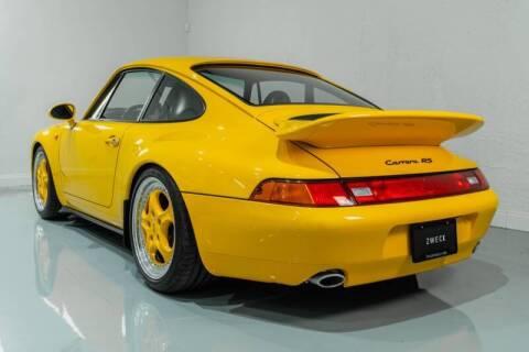 1996 Porsche 911 Carrera for sale at ZWECK in Miami FL