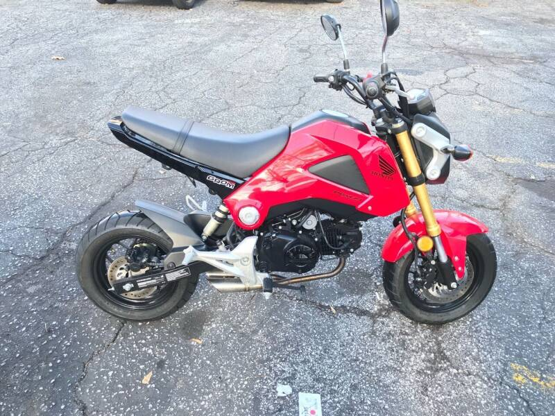 2014 Honda Grom for sale at Fast and Friendly Auto Sales LLC in Decatur GA