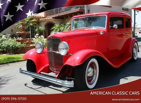 1932 Ford VICTORIA for sale at American Classic Cars in La Verne CA