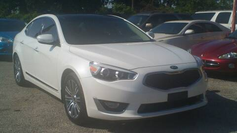 2015 Kia Cadenza for sale at Global Vehicles,Inc in Irving TX