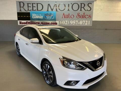 2016 Nissan Sentra for sale at REED MOTORS LLC in Phoenix AZ