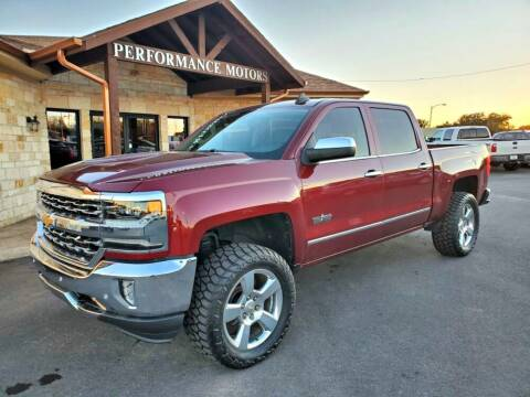 2017 Chevrolet Silverado 1500 for sale at Performance Motors Killeen Second Chance in Killeen TX