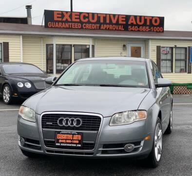 2007 Audi A4 for sale at Executive Auto in Winchester VA