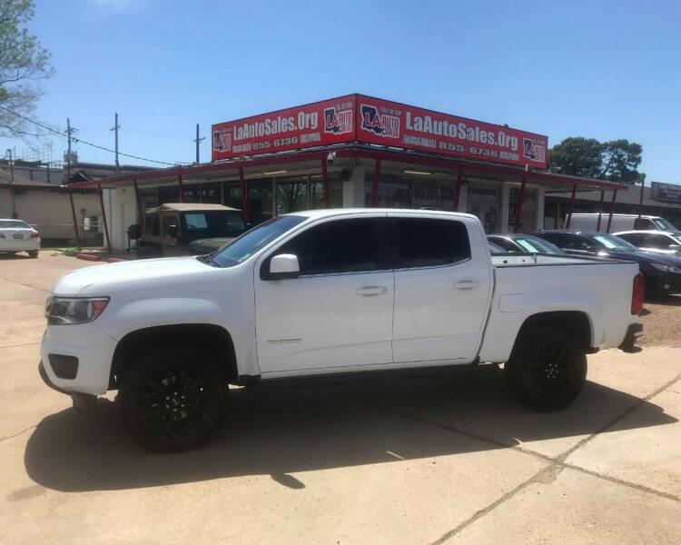 2018 Chevrolet Colorado for sale at LA Auto Sales in Monroe LA