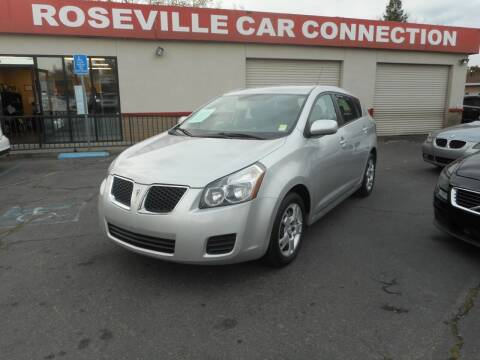 2009 Pontiac Vibe for sale at ROSEVILLE CAR CONNECTION in Roseville CA