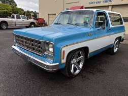 1977 Chevrolet Blazer for sale at Teddy Bear Auto Sales Inc in Portland OR