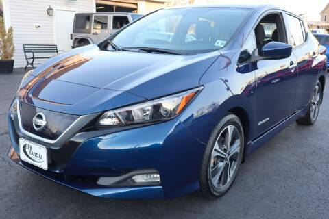 2018 Nissan LEAF for sale at Randal Auto Sales in Eastampton NJ