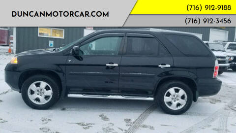 2005 Acura MDX for sale at DuncanMotorcar.com in Buffalo NY