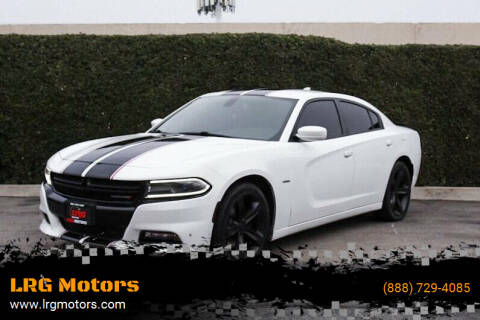 2016 Dodge Charger for sale at LRG Motors in Montclair CA