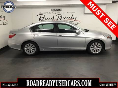 2014 Honda Accord for sale at Road Ready Used Cars in Ansonia CT