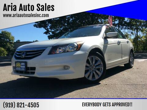 2011 Honda Accord for sale at ARIA  AUTO  SALES in Raleigh NC
