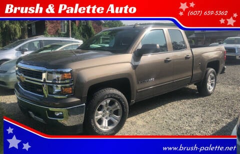 2015 Chevrolet Silverado 1500 for sale at Brush & Palette Auto in Candor NY