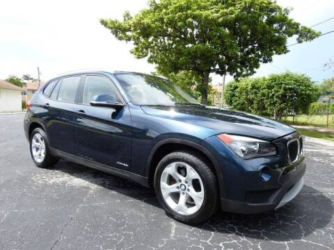 2013 BMW X1 for sale at SUPER DEAL MOTORS 441 in Hollywood FL