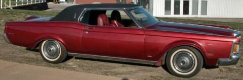 1971 Lincoln Continental for sale at Classic Car Deals in Cadillac MI