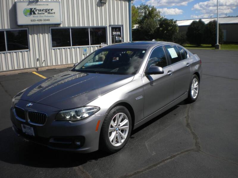 2015 BMW 5 Series for sale at AUTO MART in Oshkosh WI