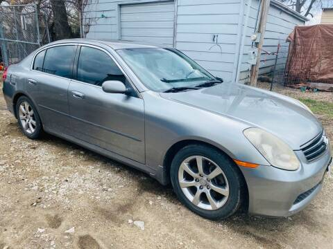 2005 Infiniti G35 for sale at Truck City Inc in Des Moines IA