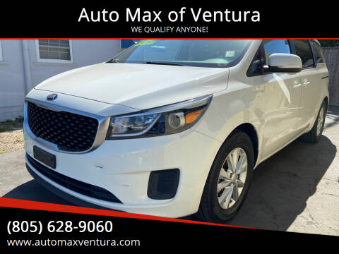 2016 Kia Sedona for sale at Auto Max of Ventura - Automax 3 in Ventura CA