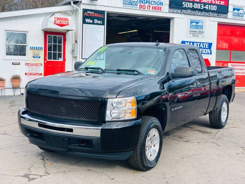 2011 Chevrolet Silverado 1500 for sale at Milford Automall Sales and Service in Bellingham MA